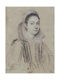 Portrait of a Lady Giclee Print by Ottavio Mario Leoni