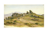 The Serpentara at Olevano, 1824 Giclee Print by Joachim Faber
