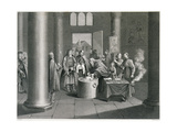 Baptism According to the Greek Church in Russia, Engraved by W. Forrest, from 'World Religion',… Giclee Print by  Picart (After)