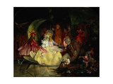 The Marriage of Oberon and Titania Giclee Print by John Anster Fitzgerald
