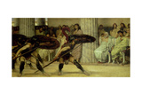 Pyrrhic Dance, 1869 Giclee Print by Sir Lawrence Alma-Tadema