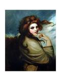 Portrait of Emma Hamilton (C.1765-1815) Giclee Print by George Romney