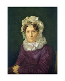 Angel Sophia Hase, the Aunt of the Artist, 1828 Giclee Print by Julius Oldach