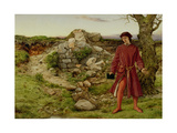 King Henry VI at Towton, 1860 Giclee Print by William Dyce