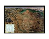 Description of Cerro Rico and the Imperial Municipality of Potosi, 1758 Giclee Print by Gaspar Miguel de Berrio