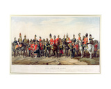 Uniforms of the British Army, Engraved by J. Morris, 1859 Giclee Print by Orlando Norie
