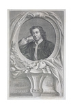 Portrait of Thomas Otway (1652-85) Engraved by Jacobus Houbraken (1698-1780) Giclee Print by Mary Beal