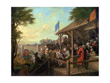 The Election III the Polling, 1754-55 Giclee Print by William Hogarth