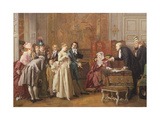 The Marriage Giclee Print by Jules Adolphe Goupil