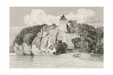 Castle at Tancarville, Published 1st October 1821 Giclee Print by John Sell Cotman