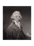 Portrait of Ignace Pleyel (1757-1831) Engraved by William Nutter Giclee Print by Thomas Hardy
