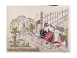 A 'Shunga', C.1785 Giclee Print by Torii Kiyonaga