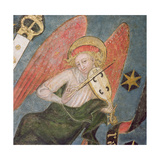Angel Musician Playing a Viol, Detail from the Vault of the Crypt Giclee Print