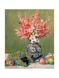 Still Life of Fruits and Flowers, 1889 Lámina giclée por Pierre-Auguste Renoir