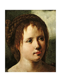 Head of a Girl, 1530/35 Giclee Print by Jan van Scorel