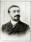 Alfred Binet (1857-1911) Photographic Print by Eugene Pirou