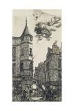Tourelle, Rue De L'Ecole De Medecine, 22, 1861 Giclee Print by Charles Meryon