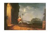 David Garrick as Don John in His Adaptation of 'The Chances' by Beaumont and Fletcher, Act 1,… Giclee Print by Philip James De Loutherbourg