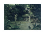 Scene from 'A Midsummer Night's Dream', 1832 Giclee Print by Francis Danby
