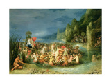 The Triumph of Neptune (An Allegory of Water) Giclee Print by Frans II the Younger Francken