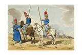 Cossacks, 1803 Giclee Print by John Augustus Atkinson