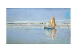 On the Lagoon, Venice Giclee Print by John William Inchbold