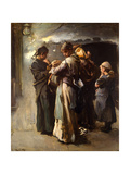 Gone Giclee Print by Frank Holl