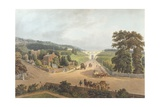 A View of the Highgate Archway, 1821, Engraved by John Hill (1770-1850) Giclee Print by Augustus Charles Pugin