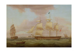 The Honourable East India Company's 'Duchess of Atholl', 1822 Giclee Print by Thomas Whitcombe