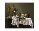 Still Life with a Nautilus Cup, Facon-De-Venise Glass, Lobster and Fruit in a Wanli Porcelain… Giclee Print by Abraham Hendricksz Van Beyeren