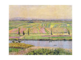 The Plain of Gennevilliers from the Hills of Argenteuil, 1888 Giclee Print by Gustave Caillebotte
