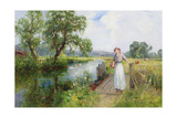 Summer Giclee Print by Ernest Walbourn