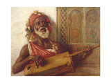 African Musician Giclee Print by Aloysius C. O'Kelly
