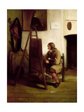An Artist in His Studio Giclee Print by Carel Fabritius