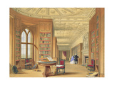 The Library, Windsor Castle, 1838 Giclee Print by James Baker Pyne