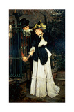 Les Adieux, 1871 Giclee Print by James Tissot