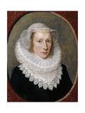 Portrait of a Lady, C.1620 Giclee Print by Cornelius Janssen van Ceulen