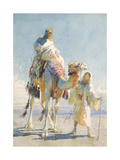 The Shaik and His Guide, 1874 Giclee Print by Carl Haag