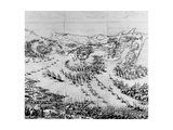 The Siege of the Citadel of Saint-Martin-De-Re in 1627, 1628-31 Giclee Print by Jacques Callot