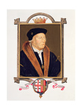 Portrait of Henry Bourchier (D.1539) 2nd Earl of Essex from 'Memoirs of the Court of Queen… Giclee Print by Sarah Countess Of Essex