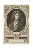 Portrait of Henry Purcell (1659-1695) Engraved by Robert White (1645-1703) Giclee Print by Johann Closterman