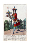 A Confectioner, C.1735 Giclee Print by Martin Engelbrecht