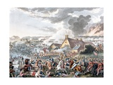 The Battle of Waterloo, Illustration for a Narrative Poem by Dr. Syntax, Published 1818 Giclee Print by William Heath