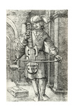 The Violin Player, C.1520-26 Giclee Print by Albrecht Altdorfer