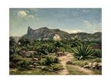 View of Rio De Janeiro, 1869 Giclee Print by Henri Nicolas Vinet