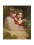 The Pet Bullfinch Giclee Print by James Sant