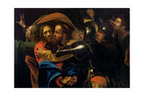 The Taking of Christ Giclée-tryk af  Caravaggio