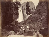 Privy at Vernal Face, Yosemite, Usa, 1861-75 Photographic Print by Carleton Emmons Watkins