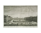 View of Leicester Square, 1753 Giclee Print by Thomas Bowles