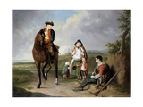 Marquess of Granby (1721-70) Relieving a Sick Soldier, C.1765 Giclee Print by Edward Penny